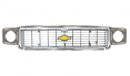 1973-74 Chevy Truck Grille Kit, Chrome Grille