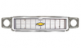 1973-74 Chevy Truck Grille Kit, Silver