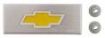 1973-80 Fullsize Chevy Blazer & Truck Console Emblem, Yellow Bowtie