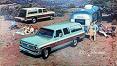 1973-80 Fullsize Chevy & GMC Suburban Body Side Molding Set, w/Tailgate