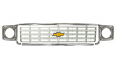 1975-76 Chevy Truck Grille Kit, Silver