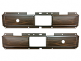 1977-80 Fullsize Chevy & GMC Truck Door Panel Center Trim Panel, Woodgrain, Manual Windows & Locks, Pair