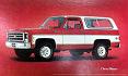 1973-80 Fullsize Chevy Blazer & GMC Jimmy Body Side Molding Set