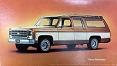 1973-80 Fullsize Chevy & GMC Suburban Body Side Molding Set, w/Cargo Doors