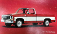 1973-80 Fullsize Chevy & GMC Truck Fleetside Body Side Molding Set, Longbed
