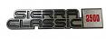1981-87 GMC Sierra Classic 2500 Fender Emblem, Pair