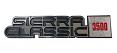 1981-87 GMC Sierra Classic 3500 Fender Emblem, Pair