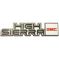 1981-87 GMC Truck HIGH SIERRA Dash Emblem