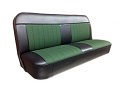 1967-68 Chevy & GMC Truck Houndstooth Bench Seat Cover 3inch Pleats with Horizontal Band