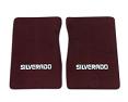 1981-87 Fullsize Chevy Truck Carpet Floor Mats with Silverado Logo