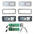 1973-79 Chevy & GMC Truck Parking Light LED Assembly With Trim