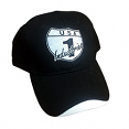 USA1 Industries Black Hat with White USA1 Logo
