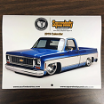 Squarebody Syndicate/USA1 2019 Wall Calendar, Syndicate Series 01