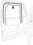 1981-87 Fullsize Chevy & GMC Truck LH Glass Run Window Channel Seal (ea.)