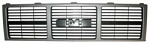 1985-87 Fullsize GMC Truck Painted Front Grille, Dual Headlight