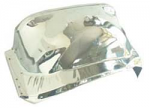 1981-87 Fullsize Chevy & GMC Truck Chrome Front Inner Fender, Right