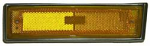 1981-87 Fullsize Chevy & GMC Truck Front Marker Light Assembly with Trim, Left