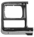 1980 Fullsize Chevy & GMC Truck Square Headlight Bezel, Right