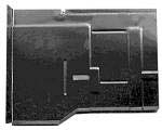 1973-91 Fullsize Chevy & GMC Blazer & Jimmy Rear Floor Pan Section, Left