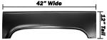 1973-87 Fullsize Chevy & GMC Truck Rear Wheel Arch Patch, Right