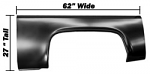 1973-87 Fullsize Chevy & GMC Truck Bedside Partial Skin, Left