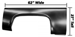 1973-87 Fullsize Chevy & GMC Truck Bedside Partial Skin, Right