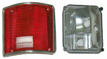 1973-87 Fullsize Chevy & GMC Fleetside Truck Tail Light Assembly, with Trim, Right
