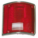 1973-87 Fullsize Chevy & GMC Fleetside Truck Tail Light Lens, with Trim, Right