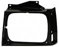 1982-90 S10 & Sonoma Truck Black Headlight Bezel, Left