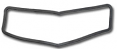 1947-53 Chevy & GMC Truck Top Cowl Vent Gasket