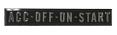 1967-72 Chevy & GMC Truck Ignition Indicator Emblem