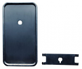 1964-66 Chevy & GMC Truck Dash Heater Control Cover Plate without Air