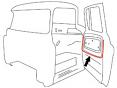 1960-66 Chevy & GMC Truck Inner Door Panel Seals