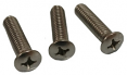1947-72 Chevy & GMC Truck Exterior Mirror Arm Screws, Stainless