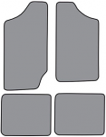 1983-94 S10 Blazer & S15 Jimmy Floor Mats 4pc.