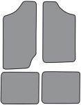 1983-94 S10 Blazer & S15 Jimmy Floor Mats 4pc.