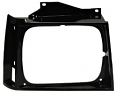 1982-90 S10 & Sonoma Truck Black Headlight Bezel, Right