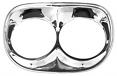 1958-59 Chevrolet Truck Chrome Headlight Bezel, Set