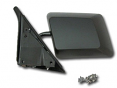 1982-93 Chevy S10 & GMC Sonoma Truck Paintable Black Outside Mirror, Left
