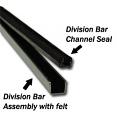 1951-55 Chevy & GMC Truck Division Bar Channel Felt Inserts