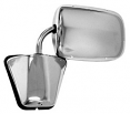 "1973-87 Fullsize Chevy & GMC Truck ""Large Style"" Outside Rearview Mirror, Stainless"